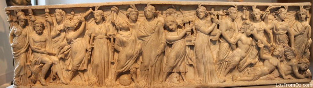 Marble Sarcophagus
