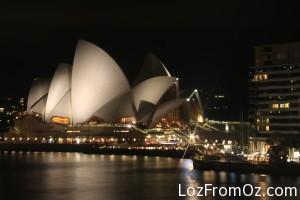 Starburst at the Opera House