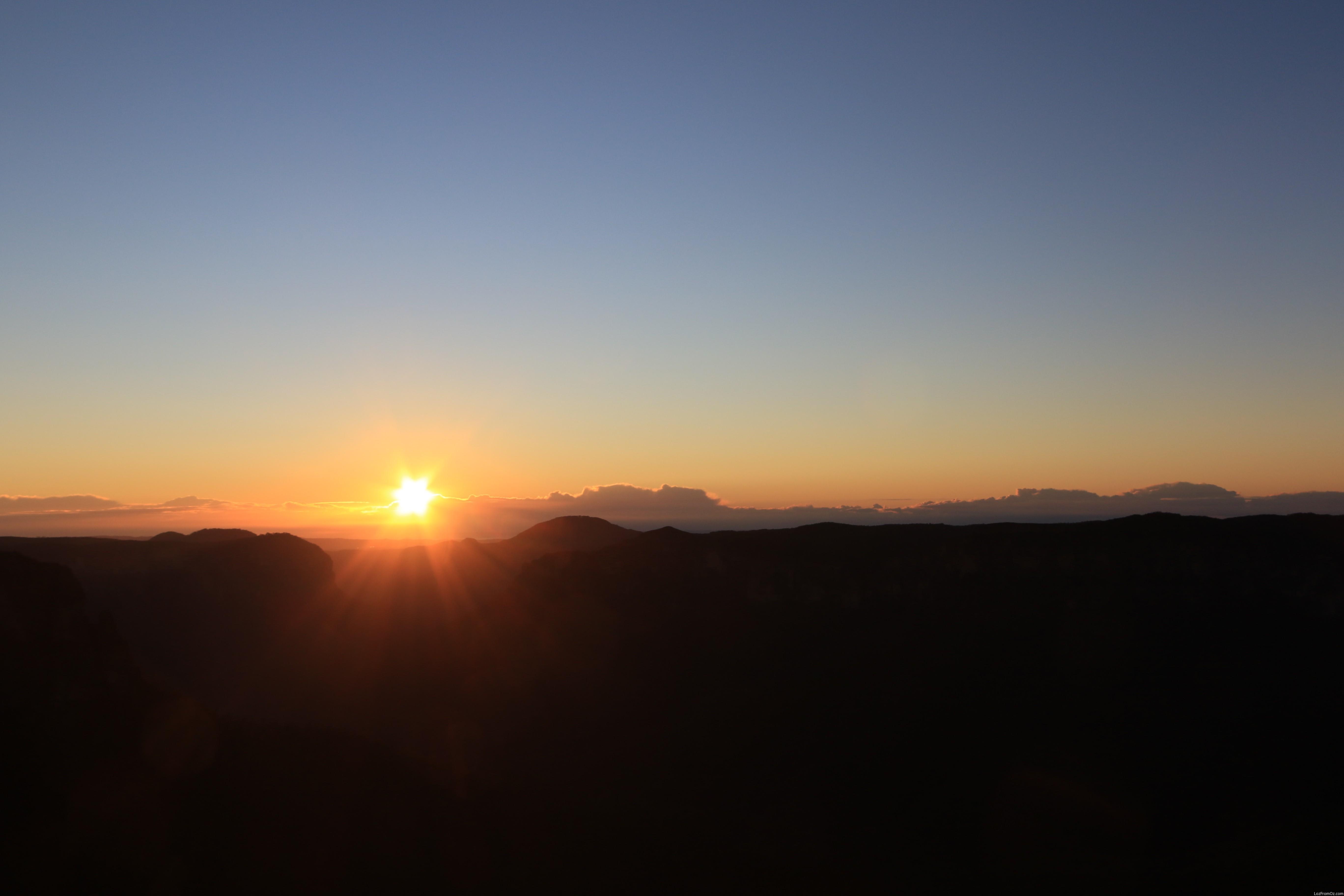 2016 Blue Mountains Sunrise