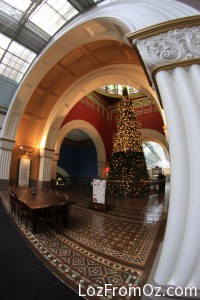 Christmas at the QVB